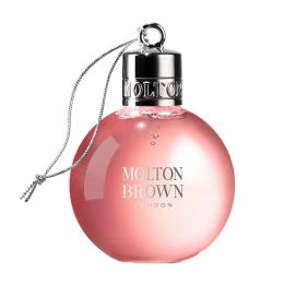 Molton Brown - Delicious Rhubarb & Rose Bath & Shower Gel - Festive Bauble