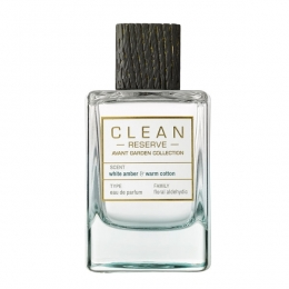 Clean Perfume - Reserve - Avant Garden Collection - White Amber & Warm Cotton